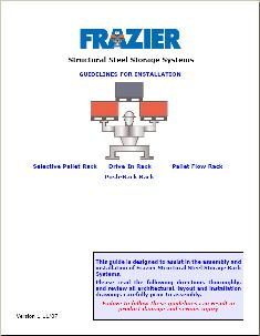 Frazier's standard installation manual