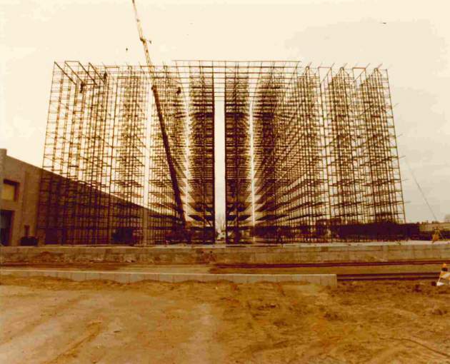 First Rack Supported Building