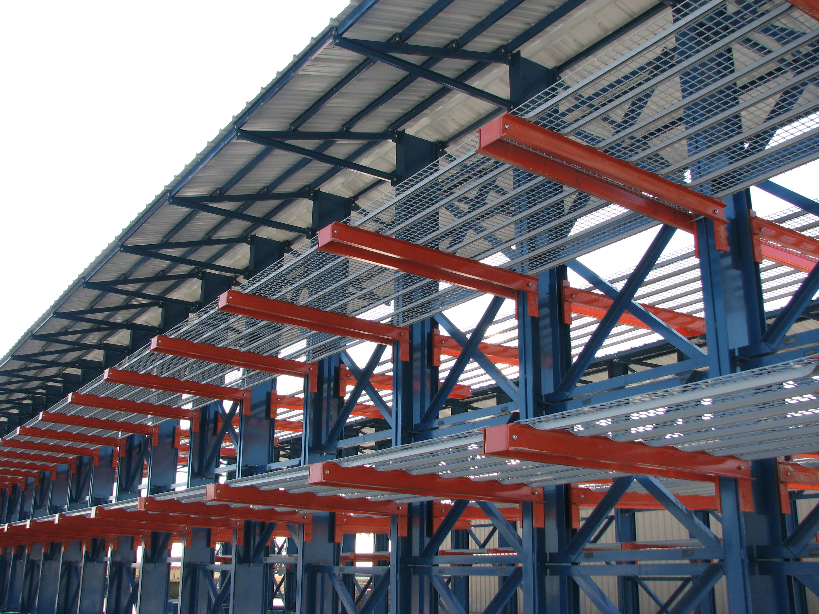 Infinitely Adjustable Cantilever Racking