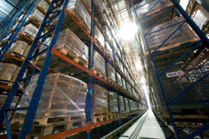 Frazier AS/RS System in a refrigerated warehouse.