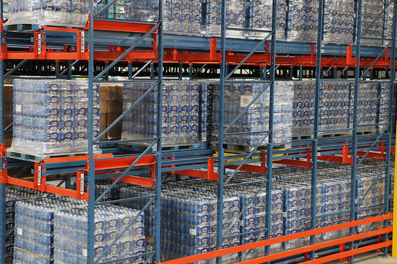 Frazier's Pallet Mole's® deep lane storage maximizes density.