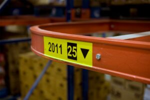 Ergo-Label Beam® protects against label damage.