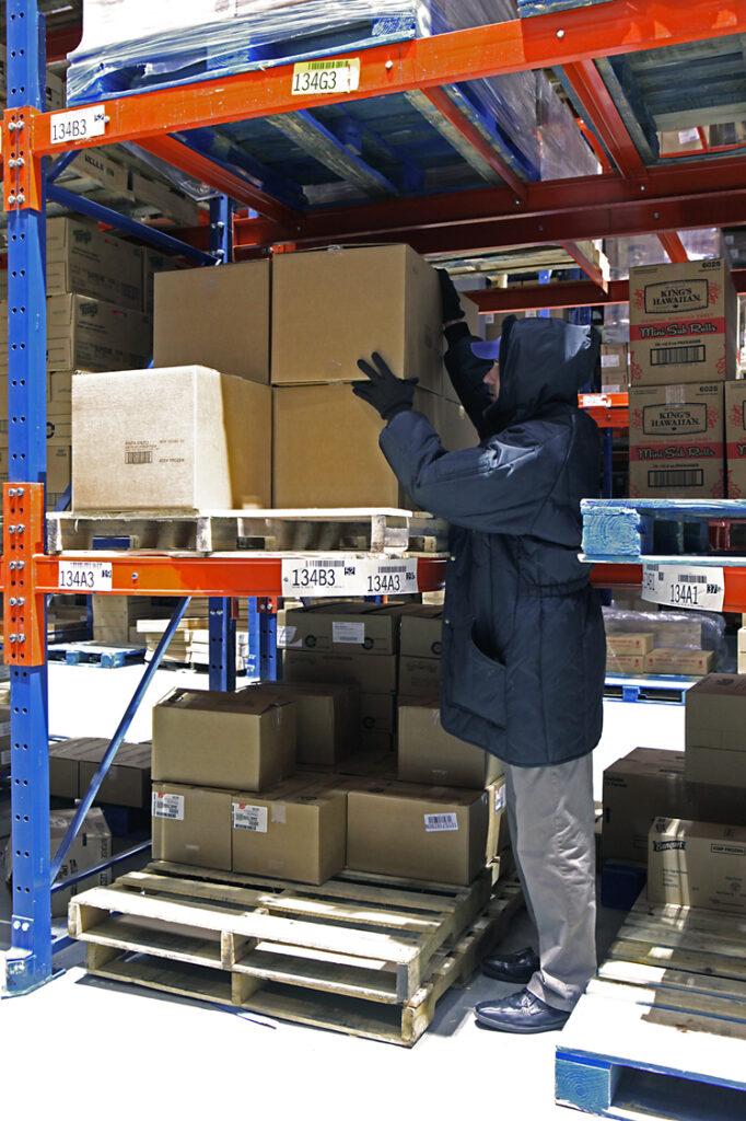 Ergo-Label Beam® Ergonomic Pallet Rack