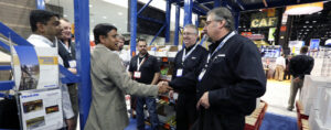 Frazier's Account Managers meet with a storage solution customer.